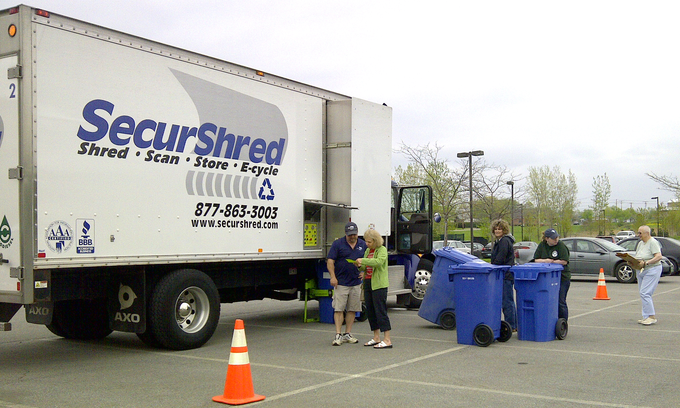 Free paper shredding event in Vermont